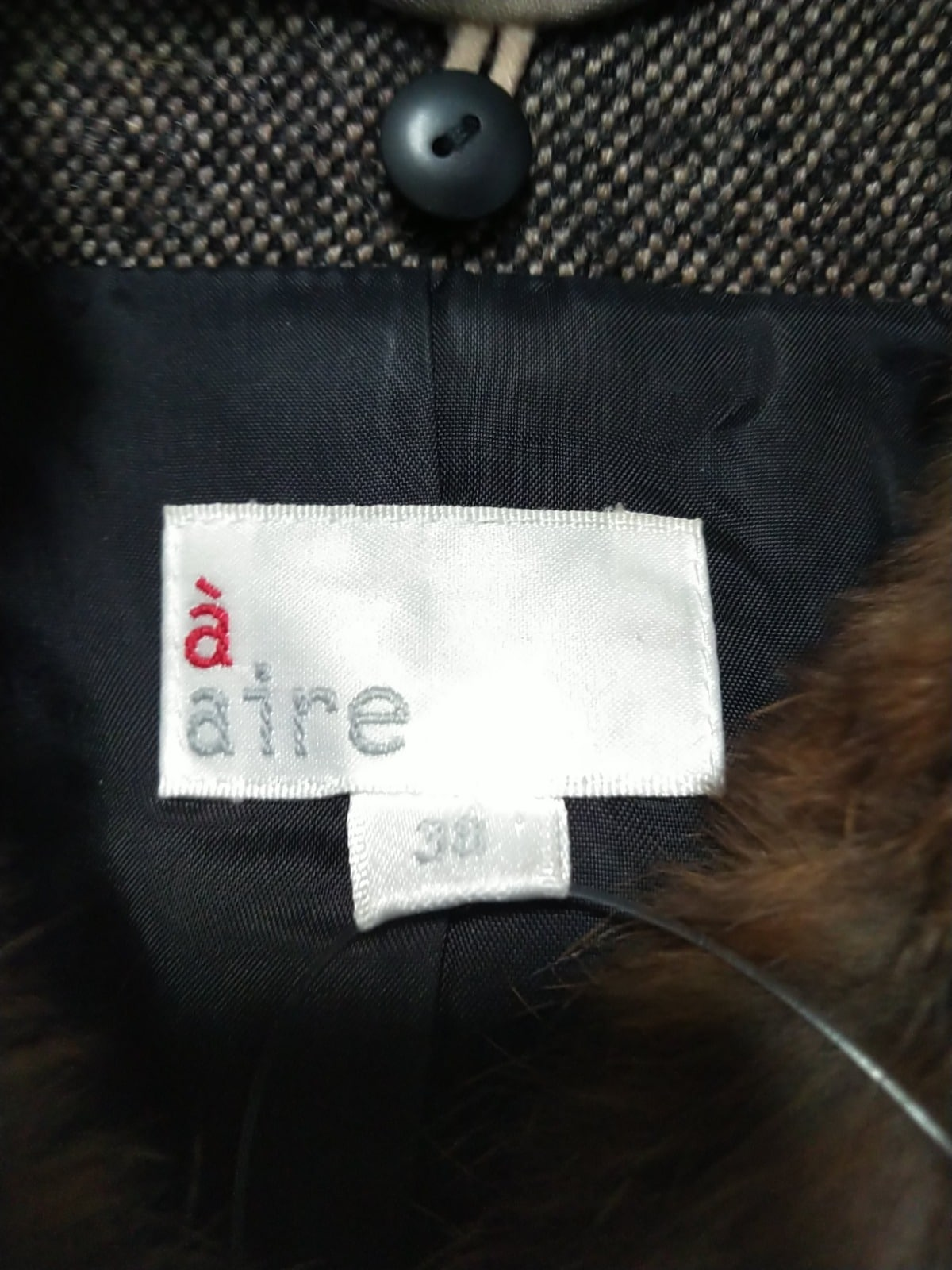 a' aire(アエル)のコート