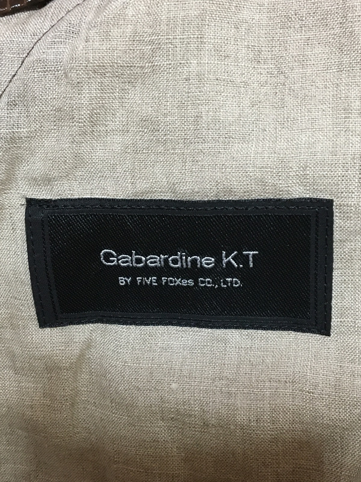 Gabardine K.T(ギャバジンケーティ)のコート