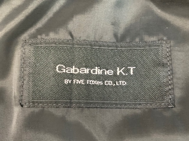 Gabardine K.T(ギャバジンケーティ)のダウンコート