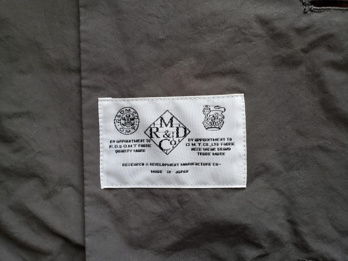 R&D.M.Co-(オールドマンズテーラー)のコート