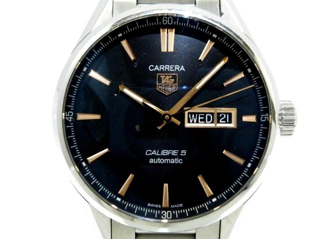 カレラ キャリバー5 デイデイトWAR201C-1