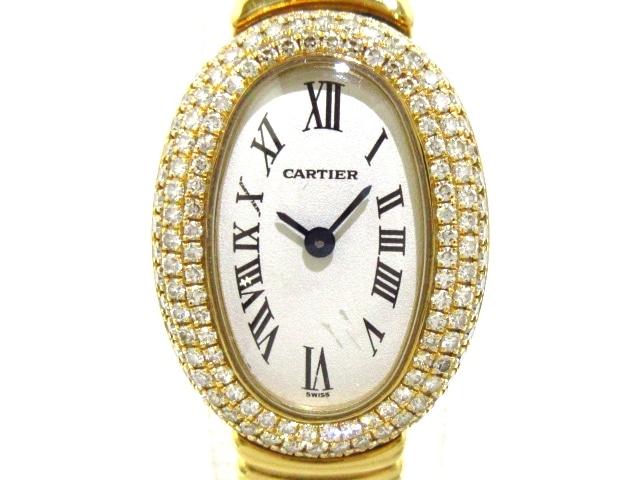 腕時計/ミニベニュワール / WB5048D8 / 金無垢 / 3重ダイヤべセル