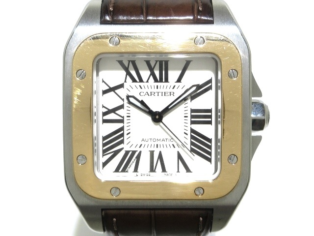 Cartier(カルティエ)のサントス100MM