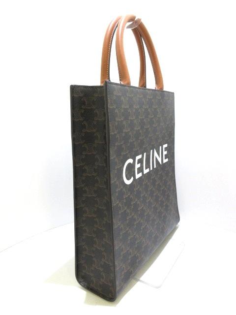 CELINE(セリーヌ)のスモール バーティカル カバ/トリオンフキャンバス