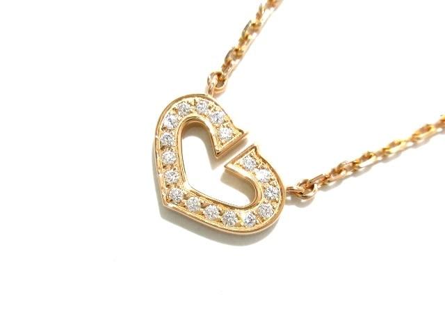 Cartier(カルティエ)のハート&シンボル/Cハートダイヤ