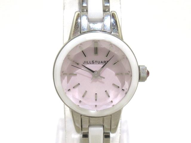 ジルスチュアート 腕時計美品 - VC01-0180 レディース シェル文字盤 ...