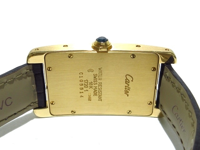 Cartier(カルティエ)のタンクアメリカンMM
