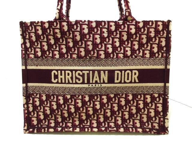 ChristianDior(クリスチャンディオール)のディオール オブリーク ブックトート スモール
