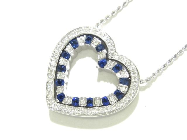DAMIANI(ダミアーニ)/ネックレス/ベルエポック / 18金(K18WG)×ダイヤモンド×サファイア