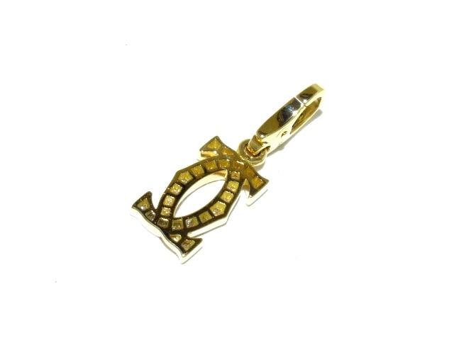 Cartier(カルティエ)の2Cダイヤチャーム