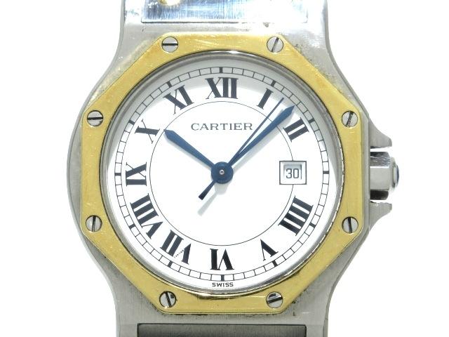Cartier(カルティエ)のサントスオクタゴンMM