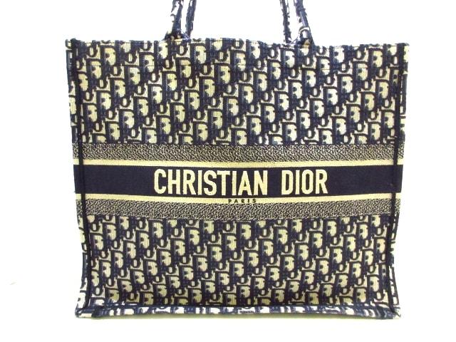 ChristianDior(クリスチャンディオール)のディオール オブリーク ブックトート ラージ