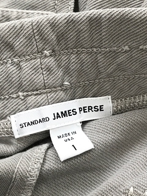 JAMES PERSE(ジェームスパース)のパンツ