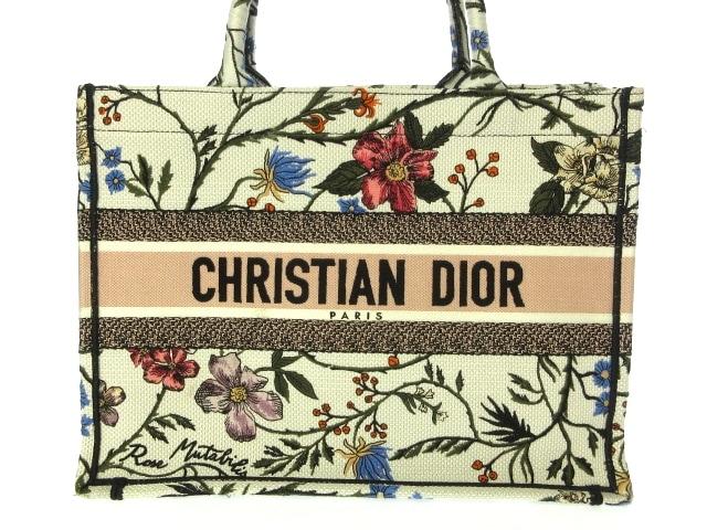 DIOR/ChristianDior(ディオール/クリスチャンディオール)のブックトート スモール/ローザ ムタビリス