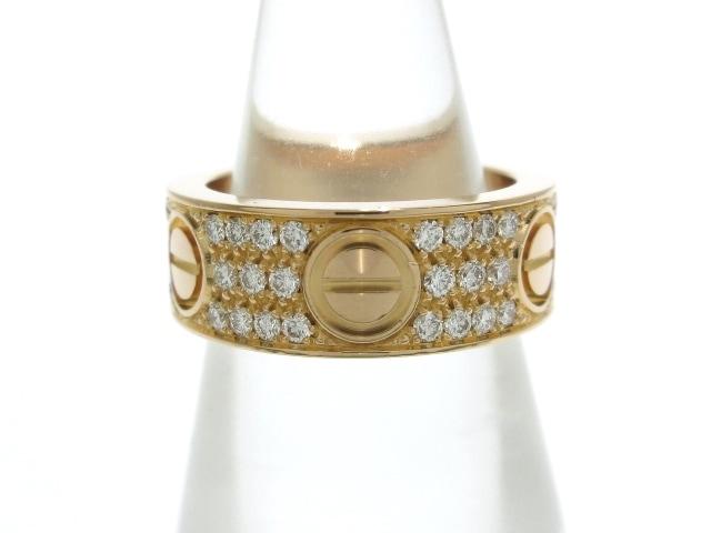 Cartier(カルティエ)のラブリング パヴェダイヤモンド