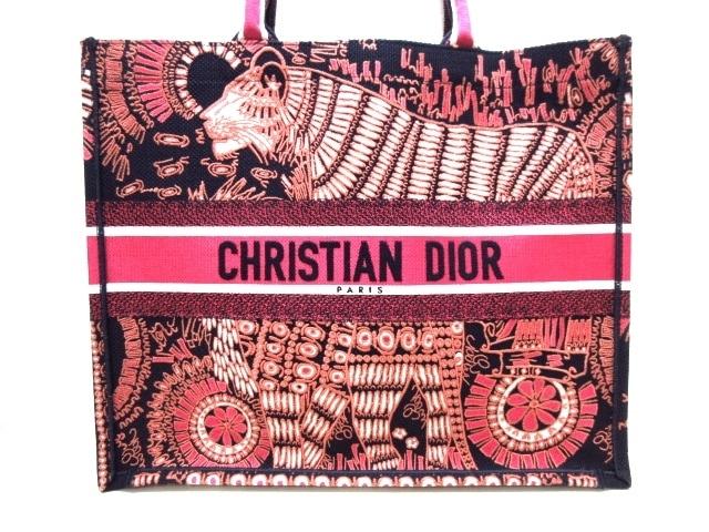 DIOR/ChristianDior(ディオール/クリスチャンディオール)のブックトート ラージ
