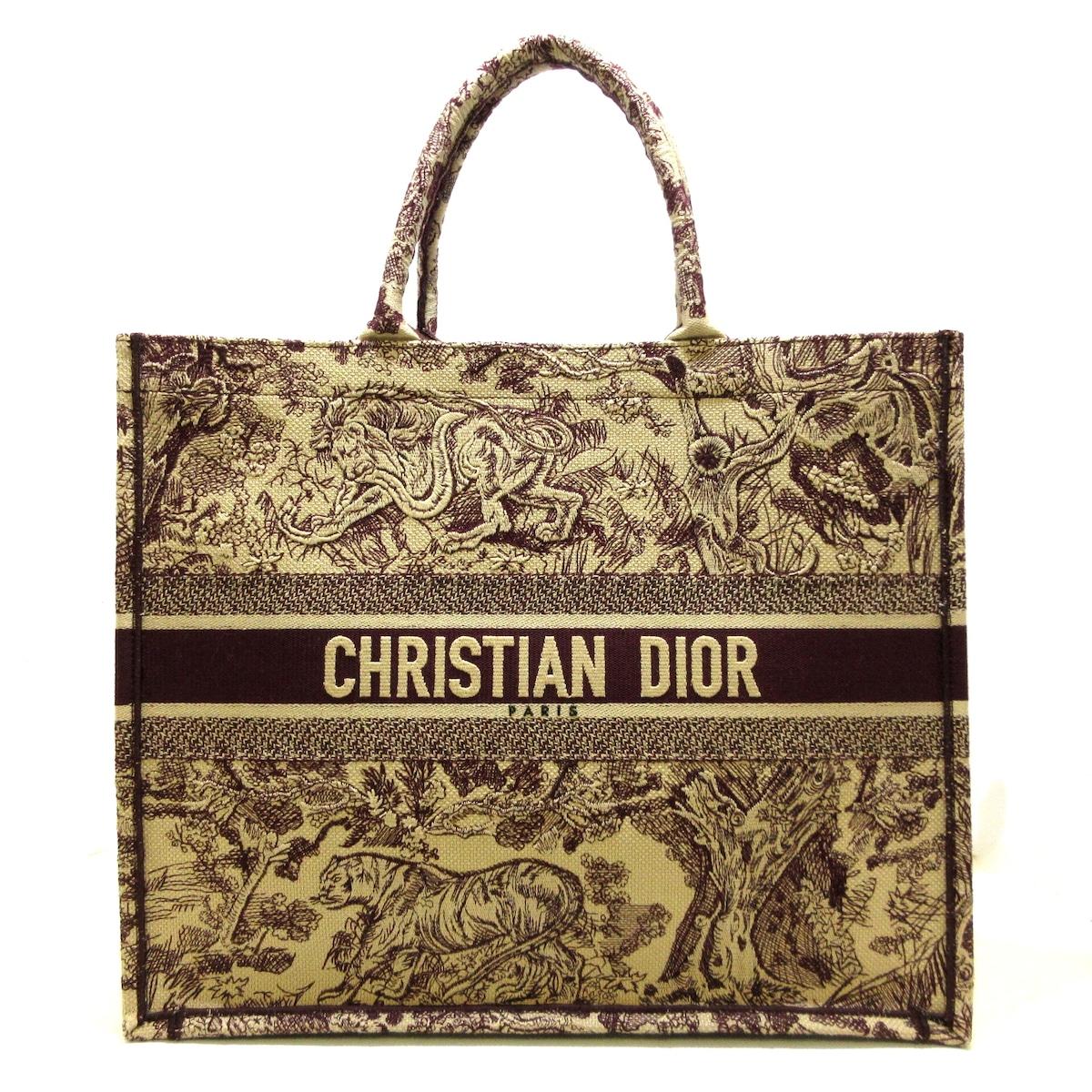 DIOR/ChristianDior(ディオール/クリスチャンディオール)のブックトートラージ/トワル ドゥ ジュイ エンブロイダリー