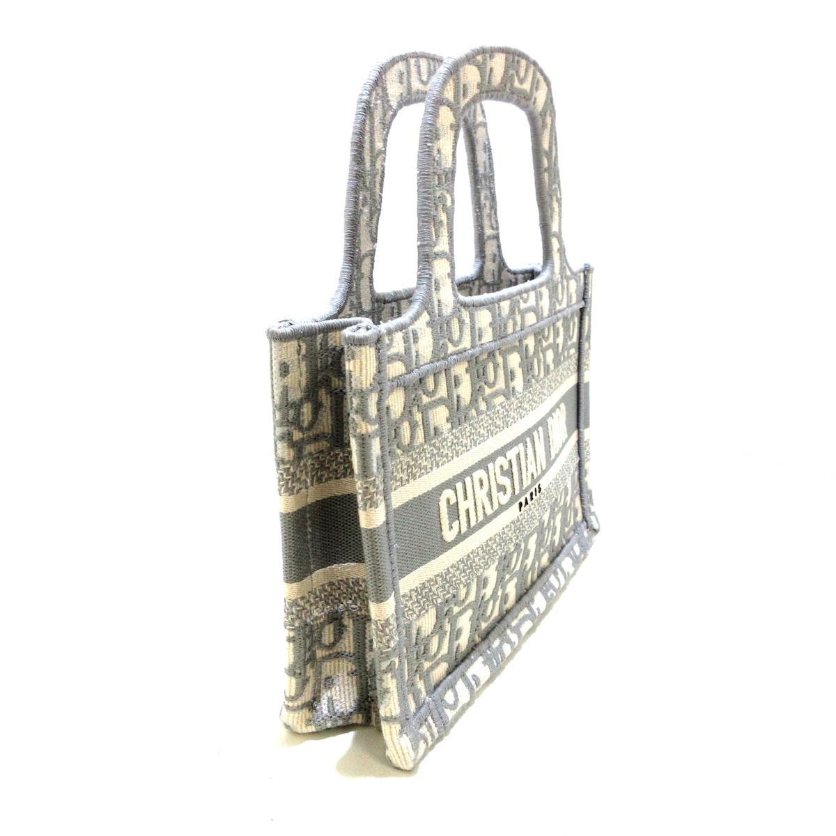 DIOR/ChristianDior(ディオール/クリスチャンディオール)のブックトートミニバッグ