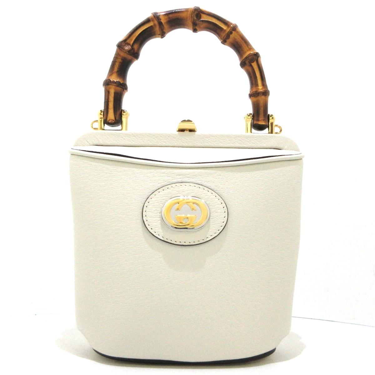 GUCCI(グッチ)のミニバンブーバケットバッグ