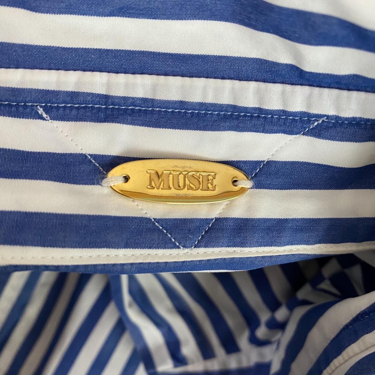 muse(ミューズ)のシャツブラウス