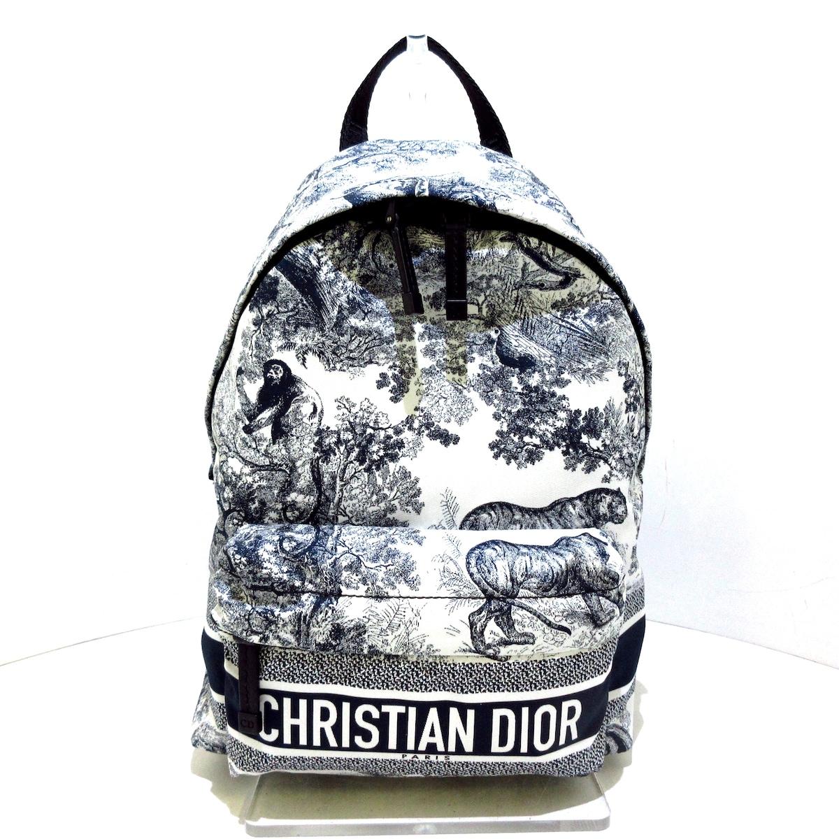 DIOR/ChristianDior(ディオール/クリスチャンディオール)のディオールトラベル スモール バックパック/トワル ドゥ ジュイ
