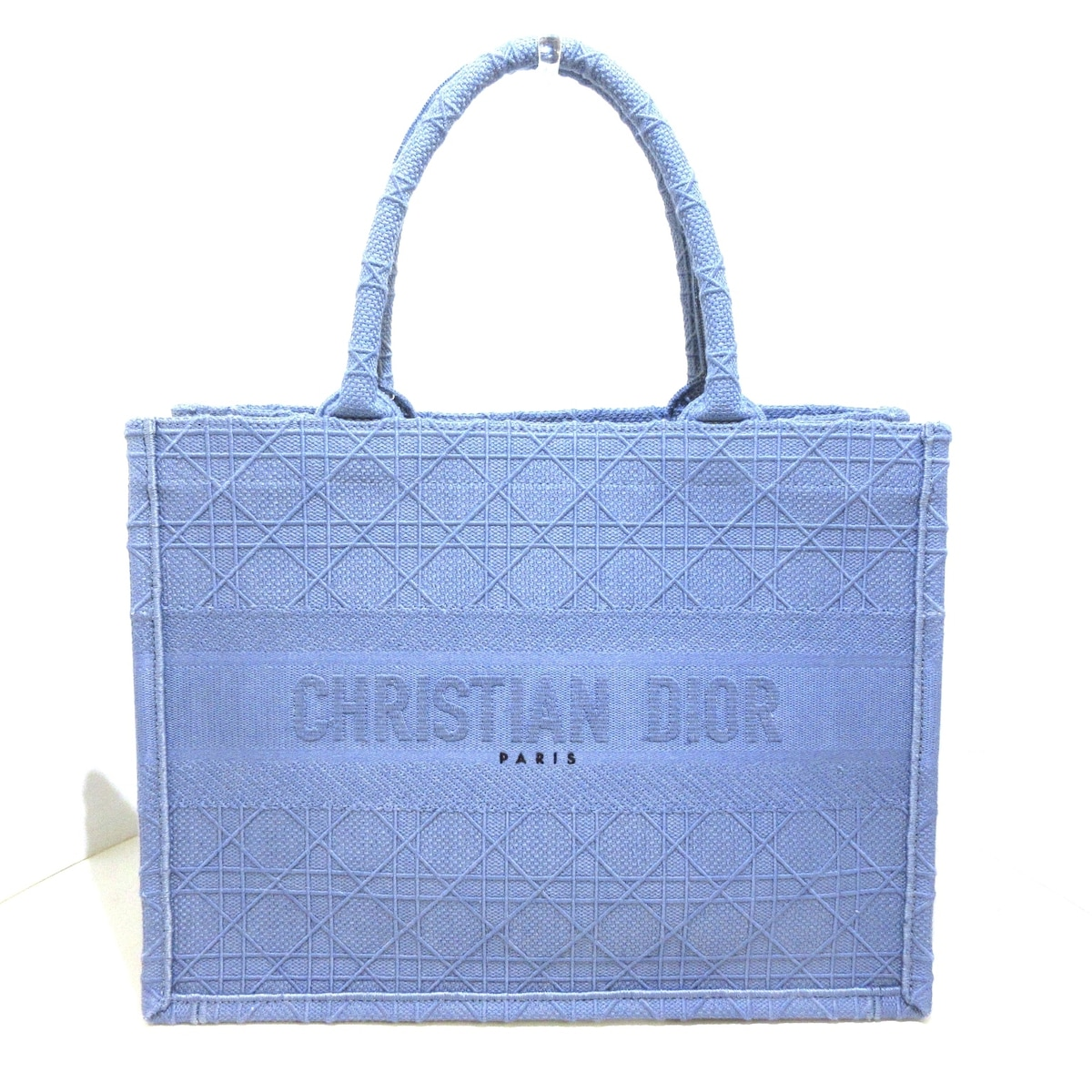 DIOR/ChristianDior(ディオール/クリスチャンディオール)のブックトート スモールバッグ/カナージュ