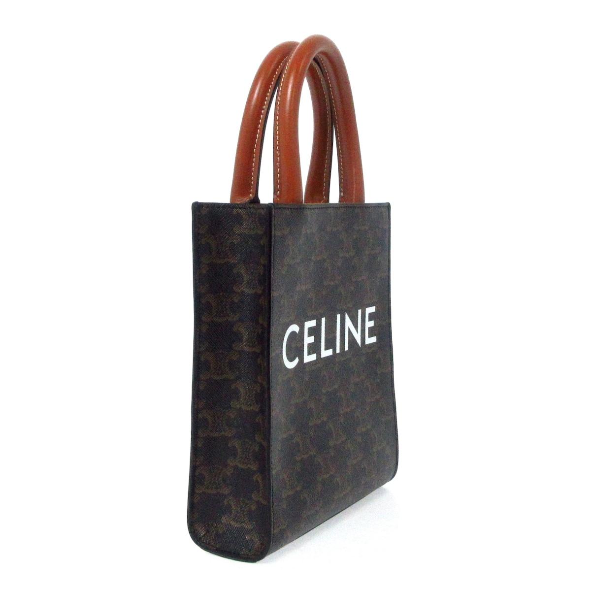 CELINE(セリーヌ)のミニ バーティカルカバ/トリオンフ キャンバス