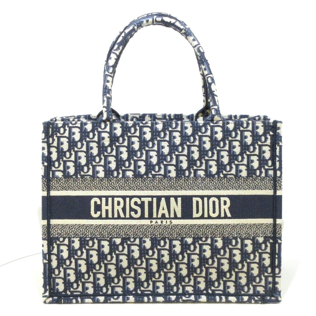 DIOR/ChristianDior(ディオール/クリスチャンディオール)のディオール オブリーク ブックトート スモール