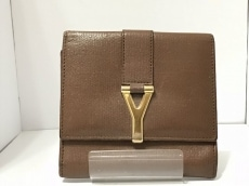 YvesSaintLaurent rivegauche (YSL)(イヴサンローランリヴゴーシュ)のWホック財布