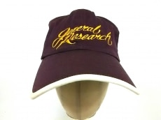 GENERAL RESEARCH(ジェネラルリサーチ)の帽子
