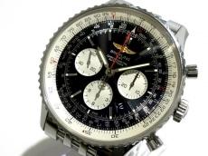 ブライトリング/AB012721/BD09/自動巻き/ナビタイマー01/腕時計 黒×アイボリー/裏スケ