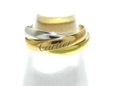 Cartier(カルティエ)の3連リング