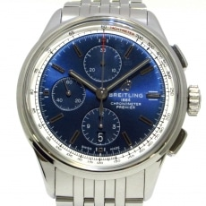 ブライトリング/A13315/自動巻き/プレミエクロノグラフ42/腕時計 ネイビー/クロノグラフ