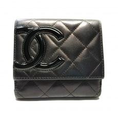 CHANEL(シャネル)のカンボンライン Wホック財布
