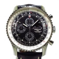 ブライトリング/A19370/A197B57WBD/自動巻き/ナビタイマー 1461 腕時計 黒/SS/世界1000本限定(7/1000)/クロノグラフ/ムーンフェイズ/トリプルカレンダー/アリゲーターベルト