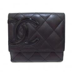 CHANEL(シャネル)のカンボンライン 2つ折り財布