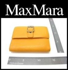 Max Mara(マックスマーラ)/3つ折り財布