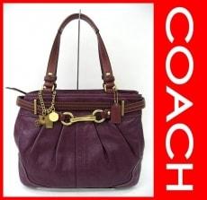 COACH(コーチ)のハンプトンズレザーキャリーオールのショルダーバッグ