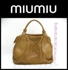 miumiu(ミュウミュウ)/ボストンバッグ