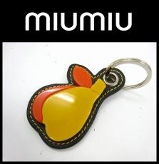 miumiu(ミュウミュウ)/キーホルダー(チャーム)