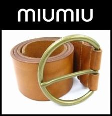 miumiu(ミュウミュウ)のベルト