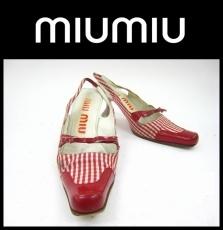 miumiu(ミュウミュウ)のパンプス