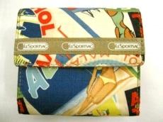 レスポートサックのWホック財布