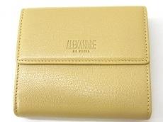 ALEXANDRE de PARIS(アレクサンドル ドゥ パリ)/3つ折り財布