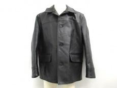 エアロレザーのジャケット