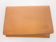 TAKEOKIKUCHI(タケオキクチ)のカードケース