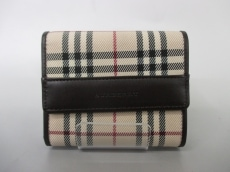 バーバリーロンドンの3つ折り財布