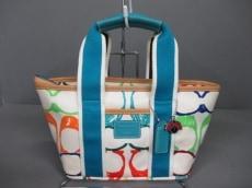 COACH(コーチ)のスクリブル ミニトートのトートバッグ