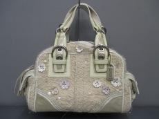COACH(コーチ)のコーチ ソーホー ツイード スモール サッチェルのハンドバッグ