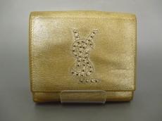 YvesSaintLaurent(イヴサンローラン)/Wホック財布